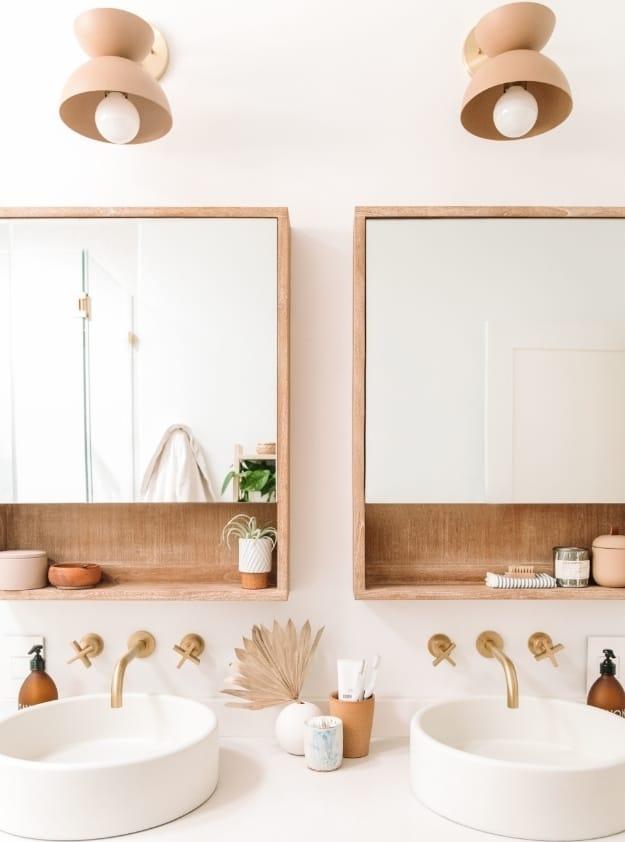 20 Tips to Achieve a Minimal Scandinavian Boho Chic Bathroom