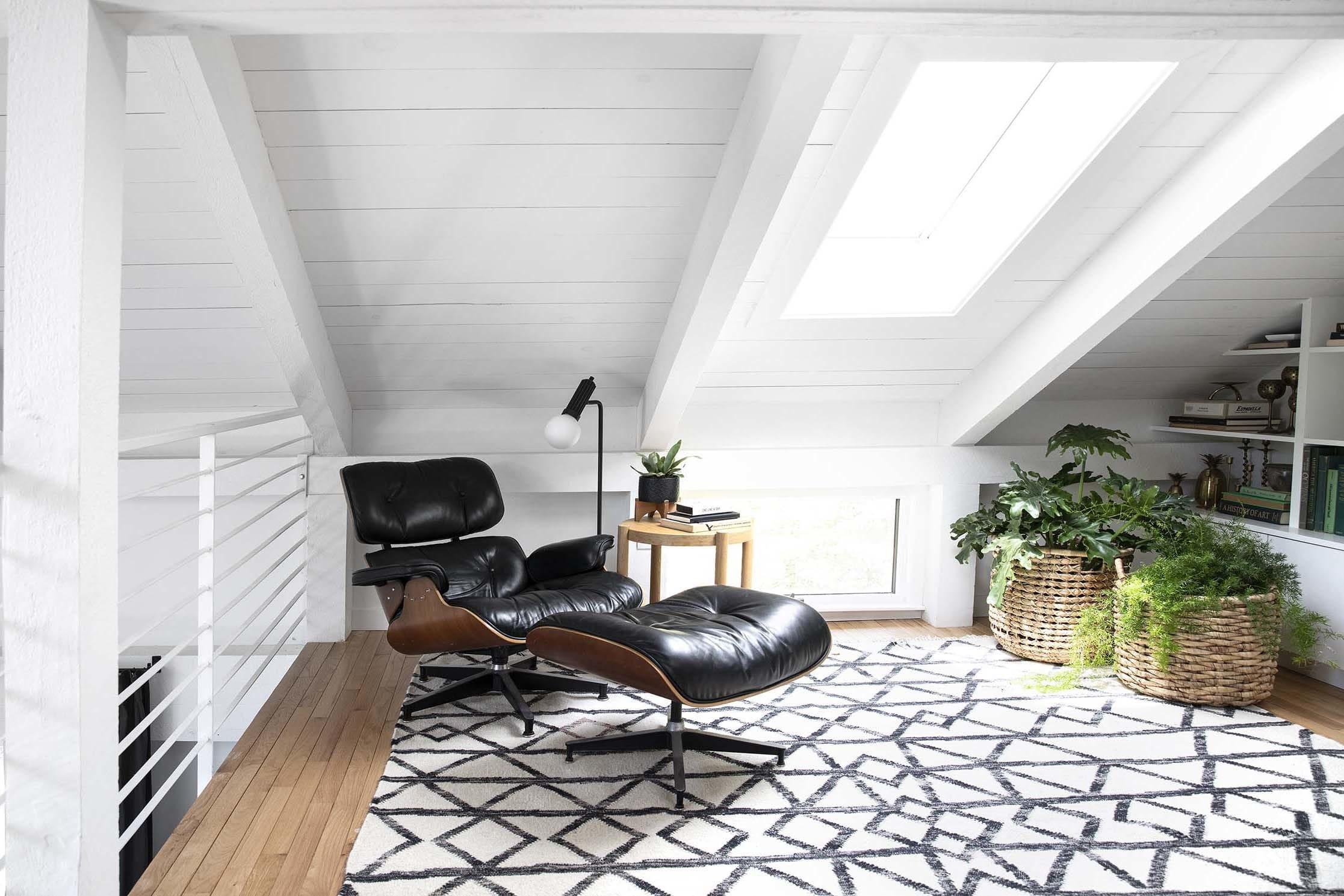 Eames chair under skylight tmb