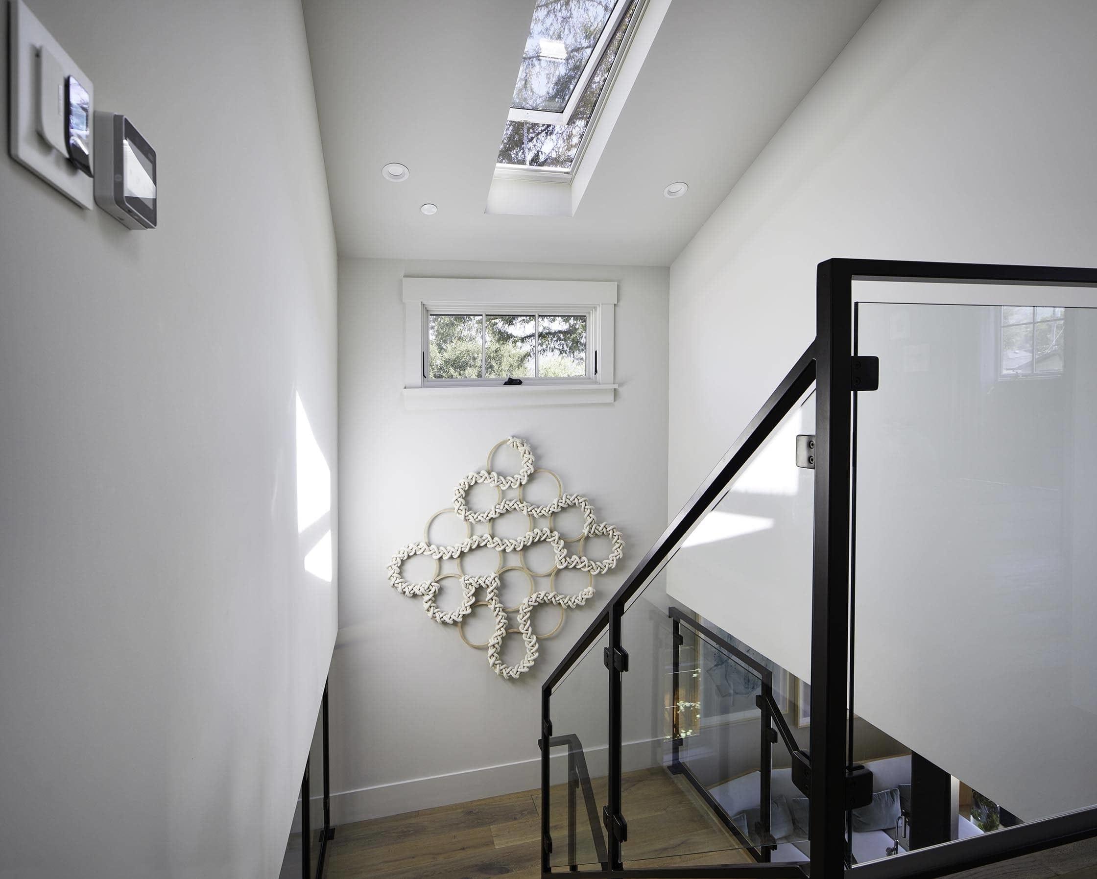 Gallery stairwell texture
