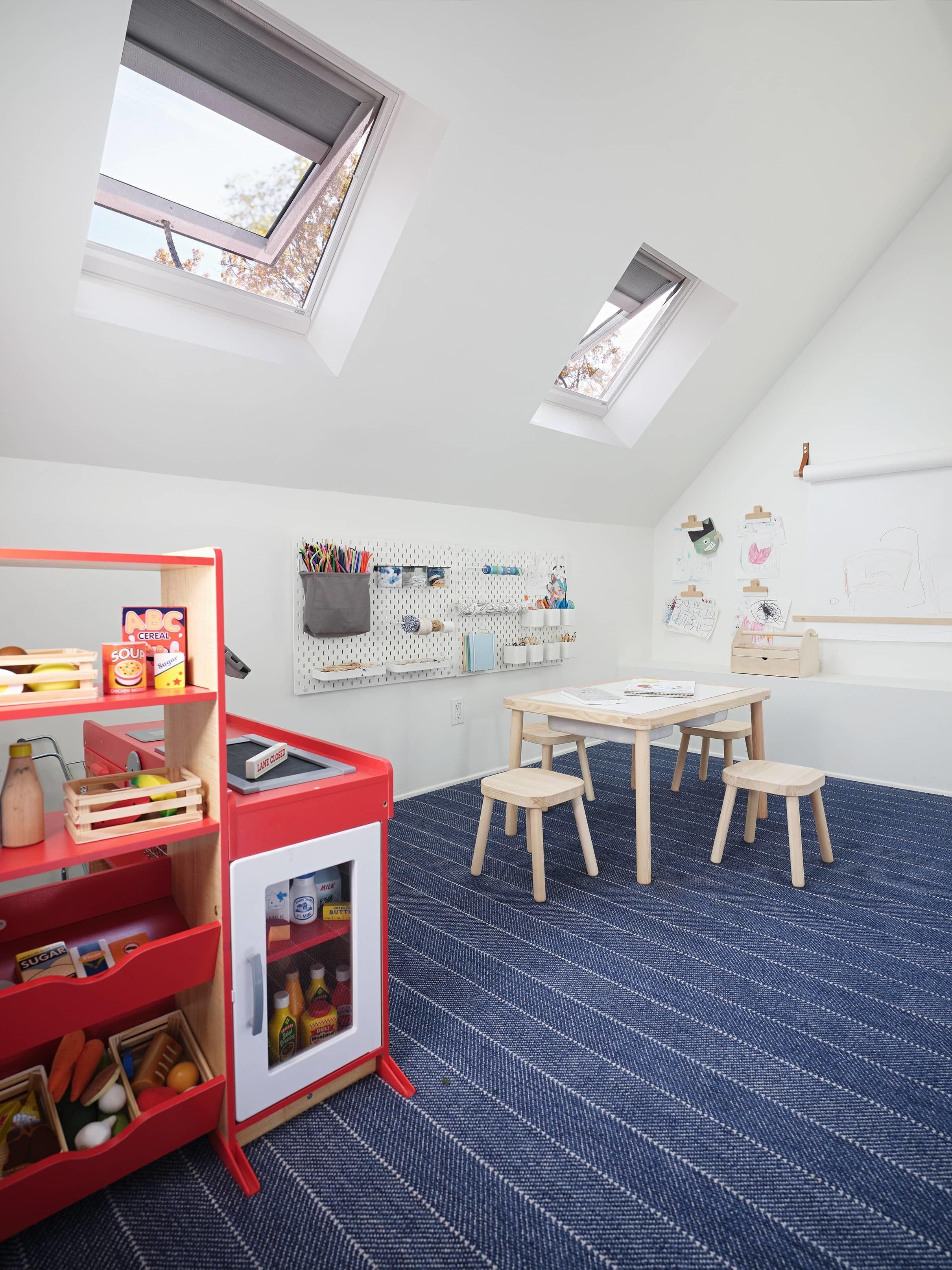 Henderson attic play room