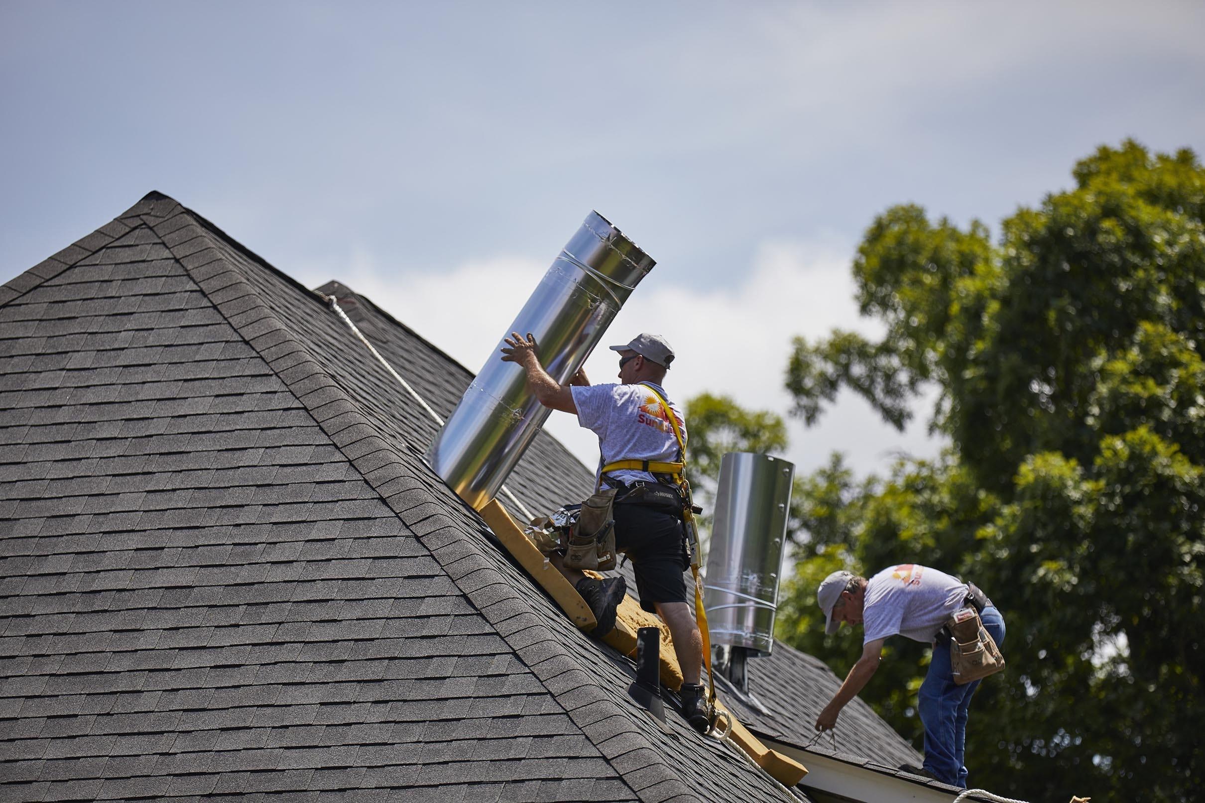 Skylight installer Sun Tunnel roof installation