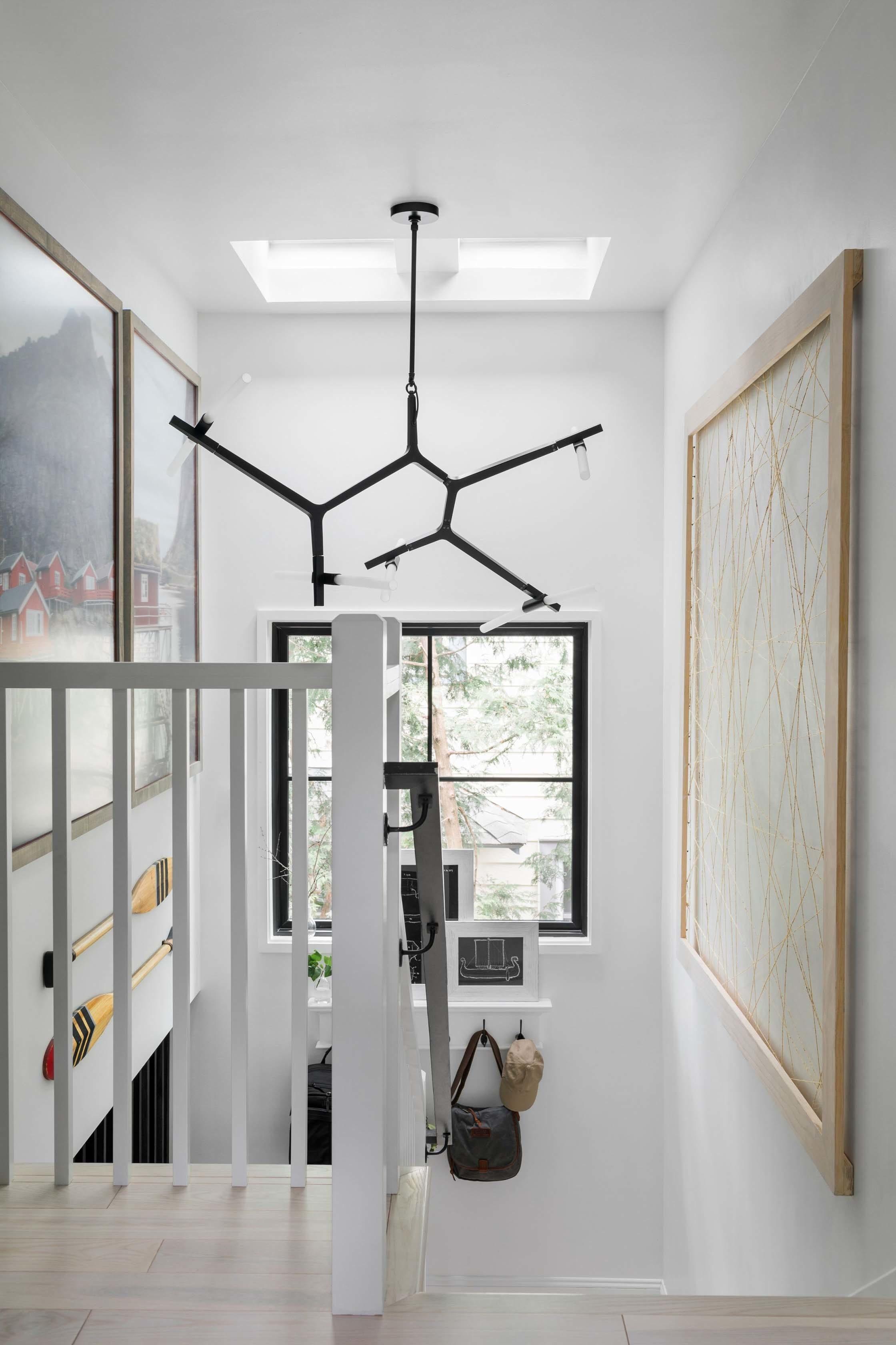 Stairwell oversize art