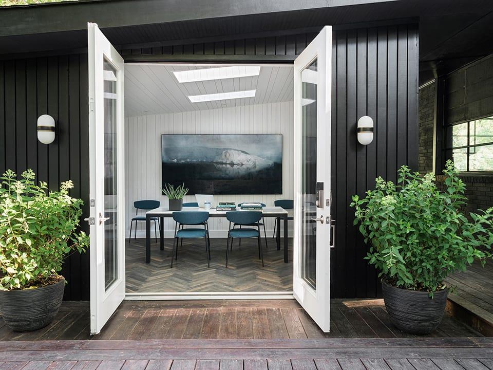 Backyard design studio