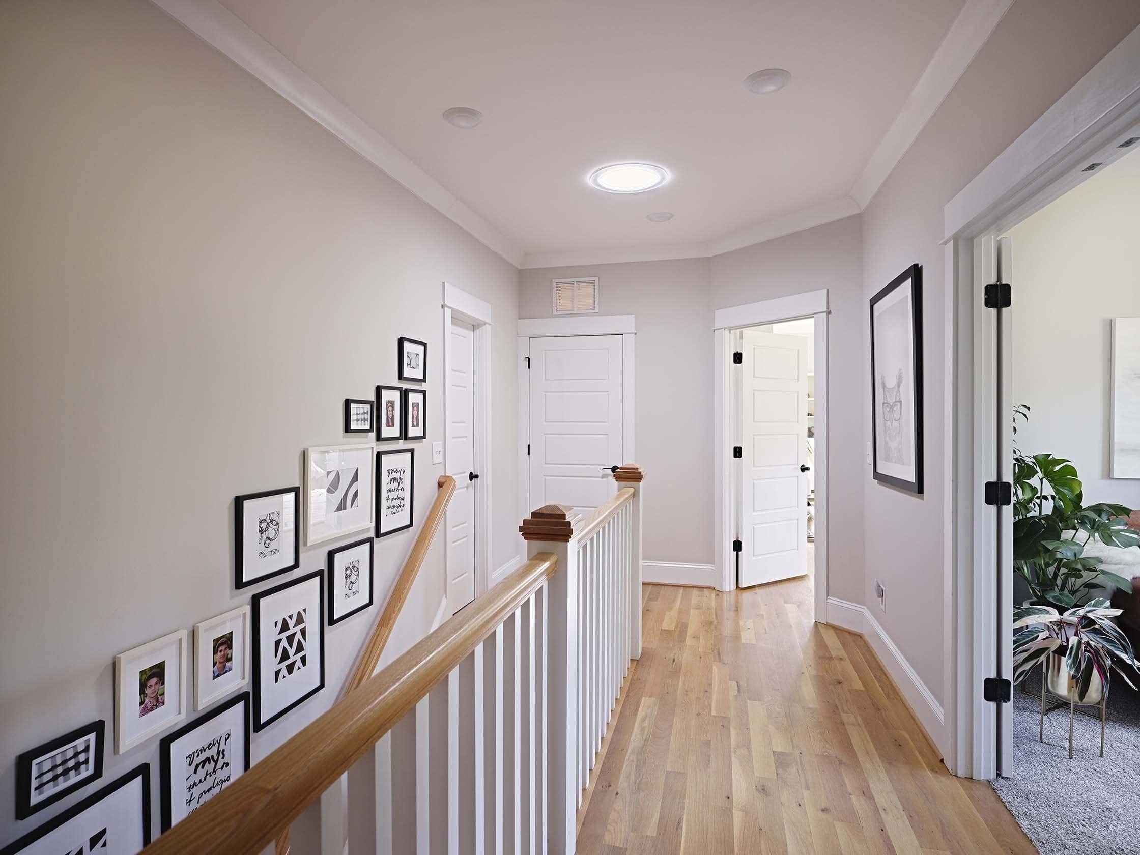 Sun Tunnel Stairwell art gallery