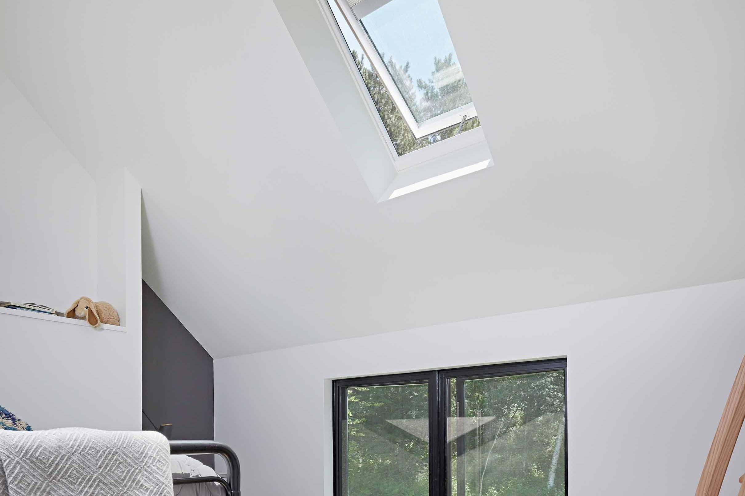 Bedroom skylight small