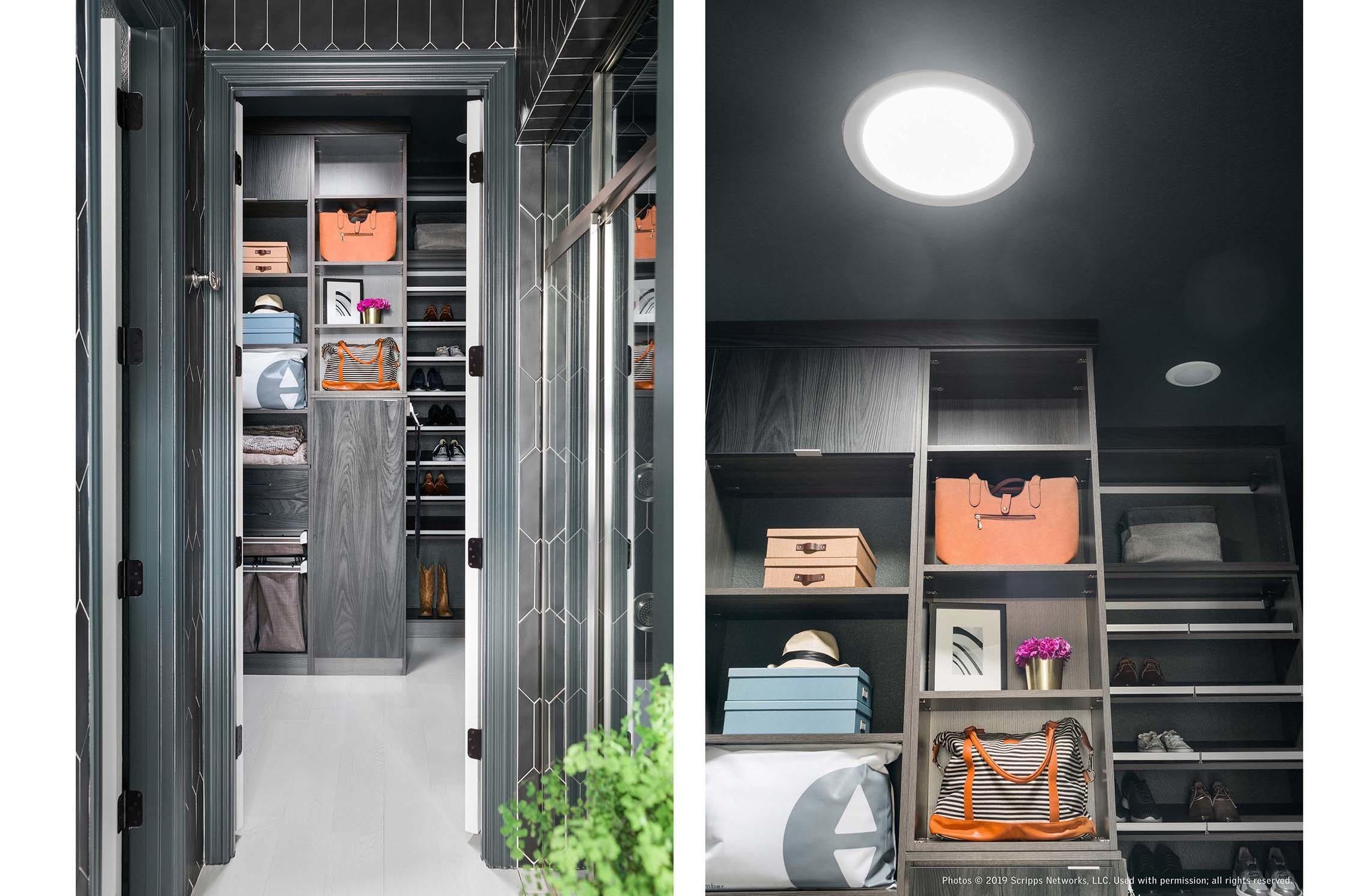 Black closet sun tunnel duo