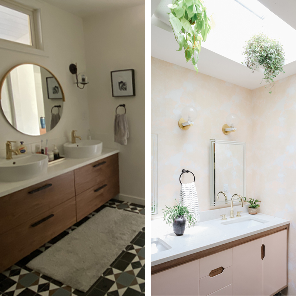 Bathroom Studio Plumb before and after 590x590