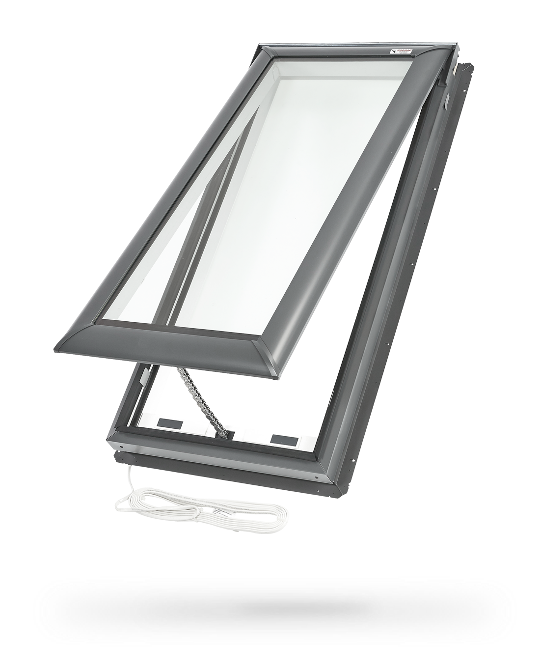 Velux electric fresh air skylight electric skylight for Program velux remote control