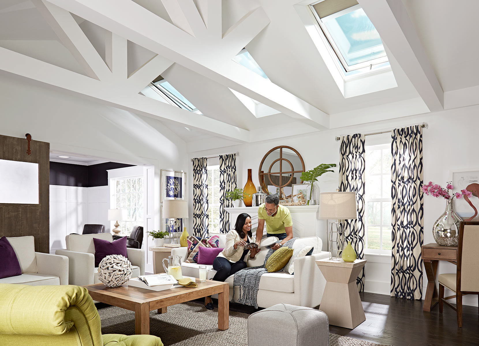 Velux Electric Fresh Air Skylight House Products Skylights Hero 2