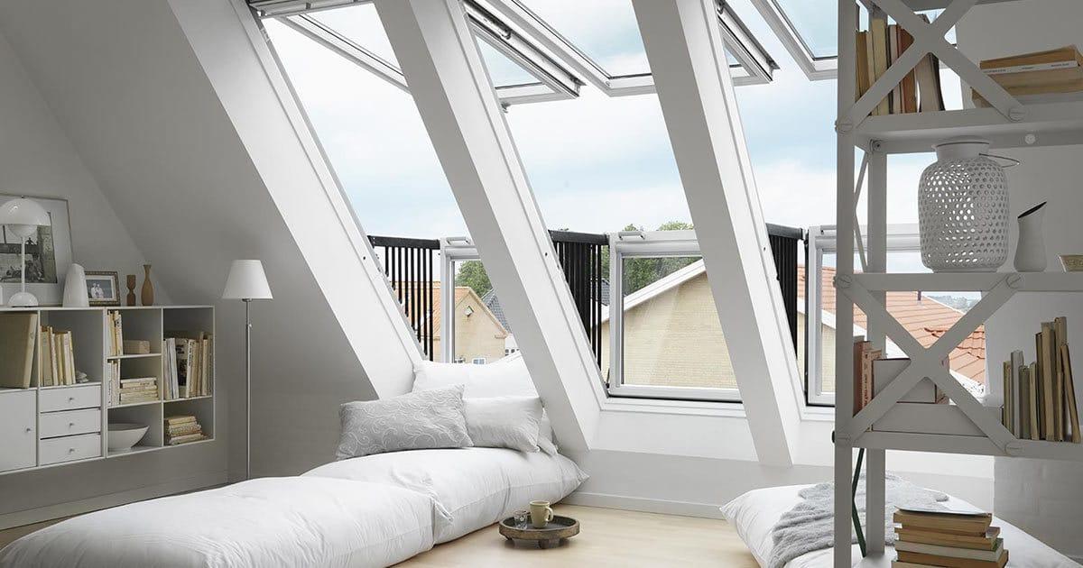 Velux Cabrio Roof Window Velux Balcony Skylight